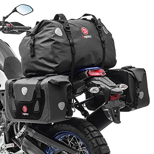 Borse laterali set Compatibile con Moto Guzzi Norge 1200/850 RX60 posteriore