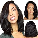 Cheveux humains Full Lace Wig 100% vrais cheveux humains Perruques Perruques Vierges...
