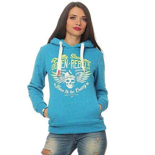 Yakuza Premium Damen Sweatshirt 2440 blau