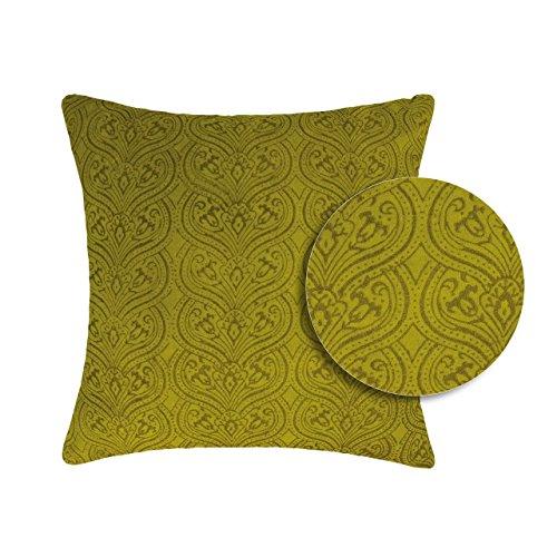 Vivaraise ~ Coussin Rosetta badiane Coton 45x45