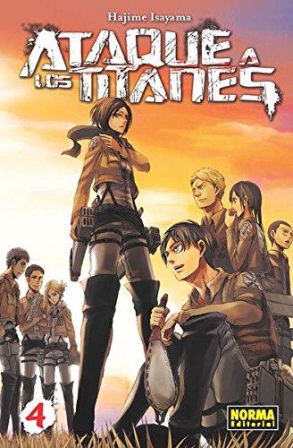 Ataque a los titanes, Vol. 4 (Comic Manga) (CÓMIC...