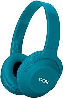Headphone Flow com Cabo Removível Azul HS207 Oex