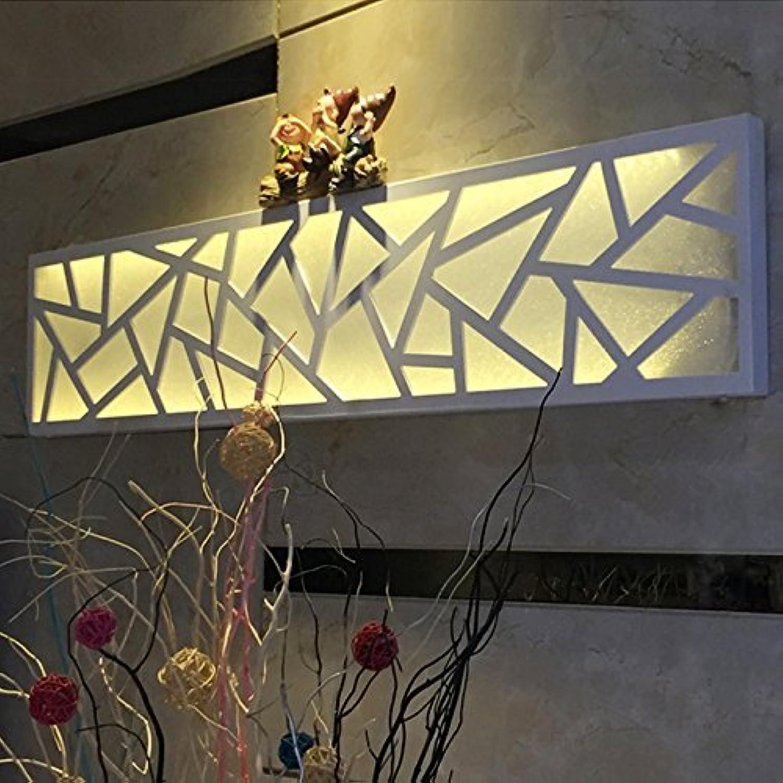 Moderne, minimalistische LED Lampe kreativer Beleuchtung ridor Studie ultra-dünne Wand im Schlafzimmer nacht Tischleuchte Wandleuchte lesen (Farbe  (a)