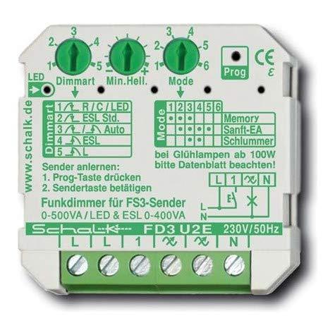 Schalk Funk-Universal-Dimmer FD3 U2E Dimmer 4046929101332
