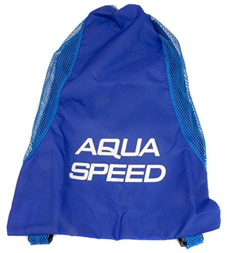 Aqua-Speed Herren Mesh Back Pack, blau, One Size