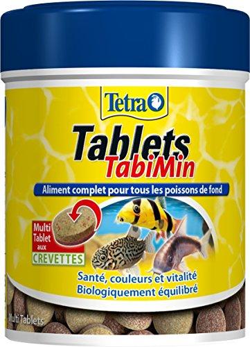 Tetra Tablets TabiMin–Alimento completo para peces de fondo–150ml