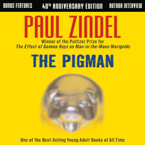 The Pigman audiobook cover art
