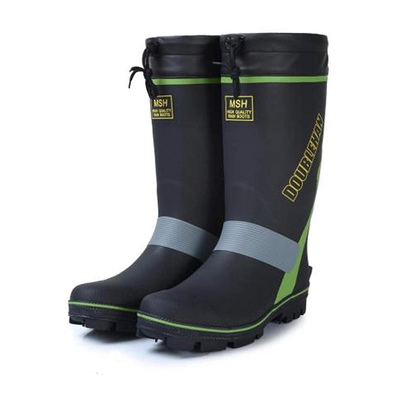 液化するイタリックインデックス[Kayaa] アウトドアブーツ メンズ レディース レインブーツ 安全靴 作業靴 耐久 防滑 フィッシングブーツ 雨靴 釣り用長靴