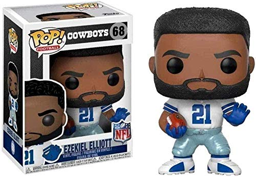 Popular! NFL - Cowboys: Ezekiel Elliott Collectible Football Series Vinyl