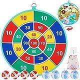 ubrand Juego de dardos para niños con 8 bolas adhesivas, juego de diana...
