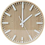 PLATINET - Yestarday - Reloj de Pared, 31,3cm, Color Beige