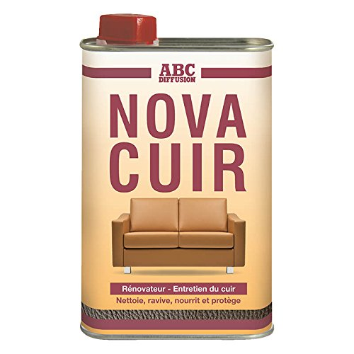 Produit Cuir - Nova Cuir - Lait pour le cuir - Nettoie et Protège - 500ml