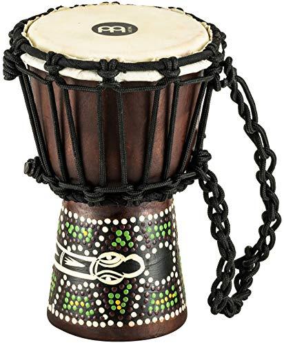 MEINL Percussion マイネル ミニジャンベ African Style Mini Djembe HDJ6-XXS Dark Serpent Design 【国内正規品】