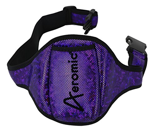 Aeromic Standard Special Edition Mic Belt - Sparkle - Midnight Purple