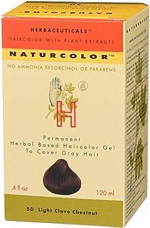 Naturcolor 5D Light Clove Chestnut Hair Dyes, 4 Ounce