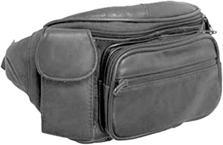 Genuine Leather Fanny Pack Waist Bag Phone Holder By Silver Fever