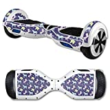 MightySkins Carbon Fiber Skin for Self Balancing Mini Scooter Hover Board - Unicorn Dream | Protective, Durable Textured Carbon Fiber Finish | Easy to Apply | Made in The USA