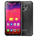 Rugged Smartphone, Blackview® BV9800 Pro, con Termocamera FLIR® Cellulare Antiurto, 48MP+5MP+16MP, 6GB+128GB, Display FHD 16 cm(6.3 inches), OS 9.0, Helio P70, 6580mAh, NFC, Face ID, Versione Globale