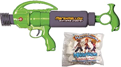 Green and Grey Extreme Marshmallow Blaster with Marshmallows