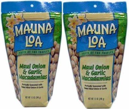 マウナロア マウイ スタンドアップバッグ【283g ×2袋】・・・お好きな バッグを【ご自由に2袋】選べます。 (【ガーリック】2袋)