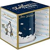 Sheepworld 47059 Zaubertasse mit Motivwechsel, Schutzengel, Porzellan, 35 cl, Geschenkbox