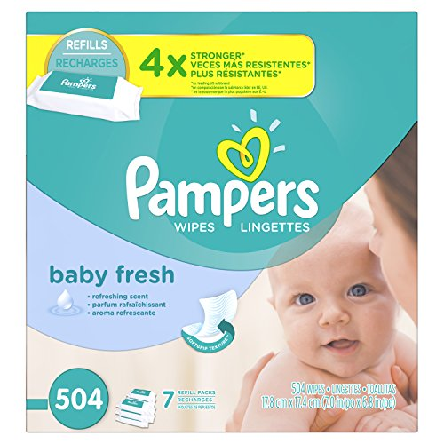 Product Image of the Pampers Fresh Wipes