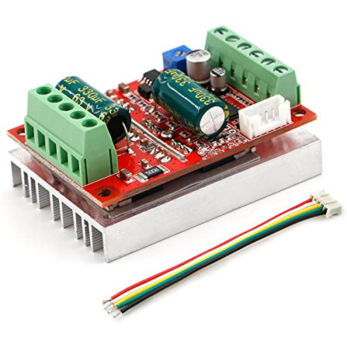 RioRand 400W 6-60V PWM DC Brushless Electric Motor Speed Controller with Hall