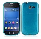 Cadorabo Coque pour Samsung Galaxy Trend Lite en Turquoise – Housse Protection Souple en Silicone TPU avec Anti–Choc et...