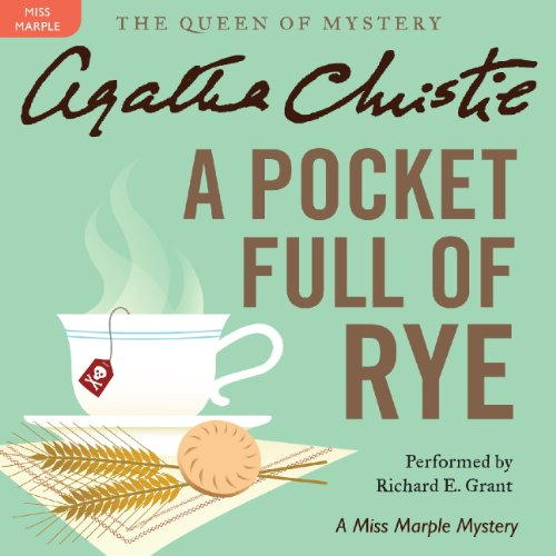 A Pocket Full of Rye audiobook cover art