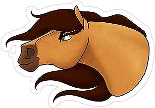 Hope Hit Spirit: Stallion of The Cimarron Stickers (3 Pcs/Pack)