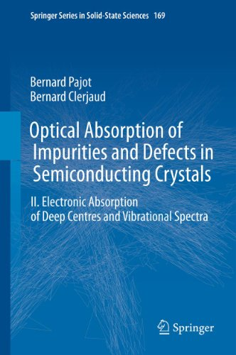 Optical Absorption of Impurities and Defects in Semiconducting Crystals: Electronic Absorption of Deep Centres and Vibrational Spectra (Springer Series ... Sciences Book 169) (English Edition)
