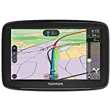 TomTom Car Sat Nav VIA 52, 5 Inch with Handsfree Calling, Traffic via Smartphone and EU Maps, Resistive Screen