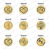 Zoom IMG-2 generico timbro sigillo ceralacca personalizzato
