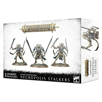 Warhammer AoS - Ossiarch Bonereapers Necropolis Stalkers