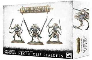 Games Workshop Warhammer 40,000: OSSIARCH BONEREAPERS Necropolis STALKERS