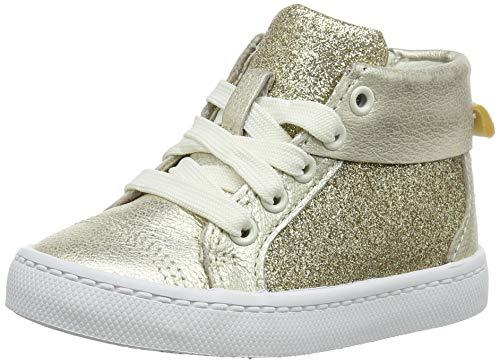 Clarks Mädchen City Oasis HT Hohe Sneaker, Gelb (Gold Gold), 26 EU