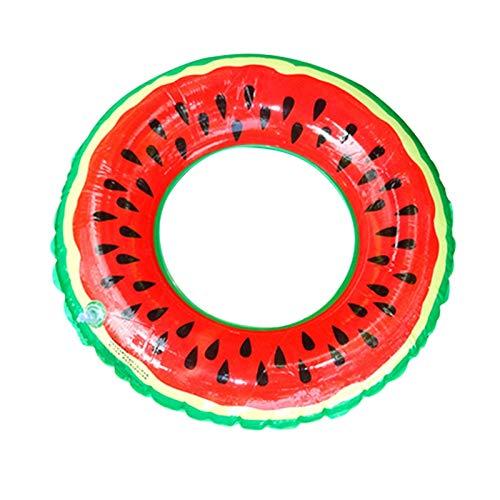 YGLONG Anillo De NatacióN Playa de Verano Sandía Inflable Natación Natación Piscina Inflable Flotador Círculo Círculo Adulto (Color : Diameter 70cm)