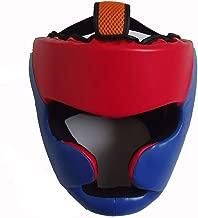 Kunstleder Boxen Kampfsport MMA Helm Kopfschutz Kopfbedeckungen Kopfschutz