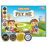 Logic Roots Pet Me Multiplication and Division Game - Fun Math Board Game for 5 - 9 Year Olds, Easy Start STEM Toy, Perfect Educational Gift for Kids (Girls & Boys), Homeschoolers, Grade 1 and Up