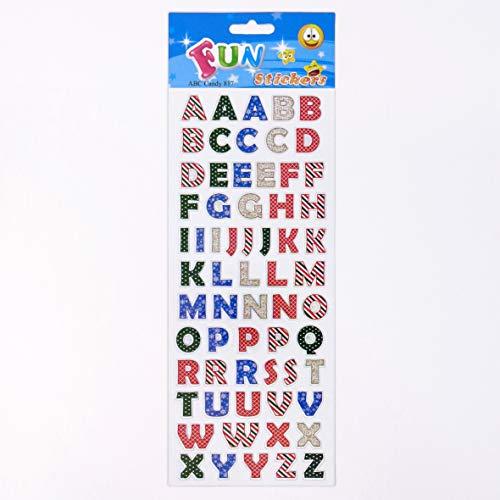 Fun Stickers ABC Candy 817