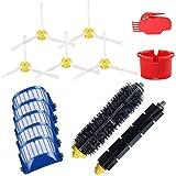 Bolsa de filtro y filtro de polvo DealMux H12 adecuada para robots aspiradores Philips, repuestos, accesorios (color: HXL2024) (color: Hxl004)