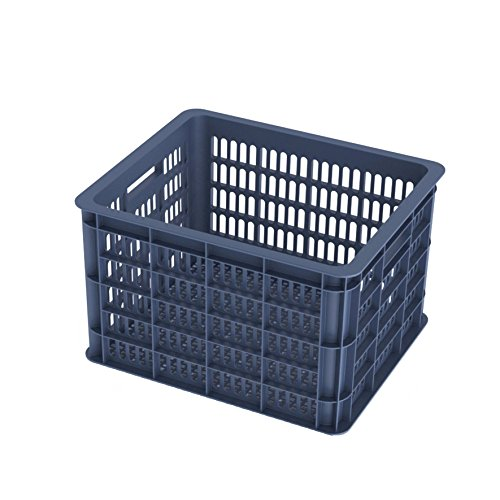 Basil Crate Fahrradkorb, Blau (Bluestone), 33 Litre