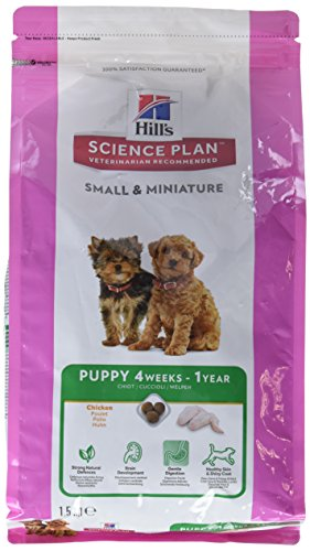 Hill's Hundefutter Small and Miniature Puppy, 1.5 kg, 1er Pack (1 x 1.5 kg)