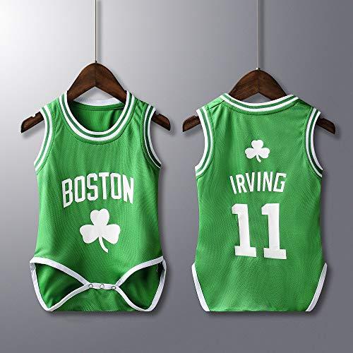 Rehot Bebé Bodies Unisex - NBA Jordan 23/Curry 30/James 23/Irving 11 Camisetas de Baloncesto Sin...