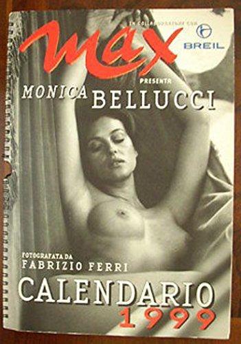 CALENDARIO MAX 1999 MONICA BELLUCCI