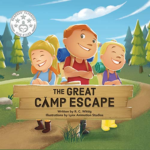 The Great Camp Escape: The Mighty Adventures Series - Book 4