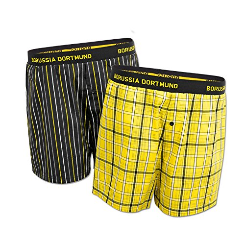 Borussia Dortmund BVB-Boxershort (2er-Pack) XXL