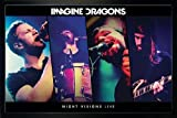 Close Up Imagine Dragons Poster Night Visions Live (96,5x66