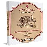 smartbox - Cofanetto Regalo Cantine d'Italia - Idea Regalo Originale - Una degustazione di Vini per 2 Persone