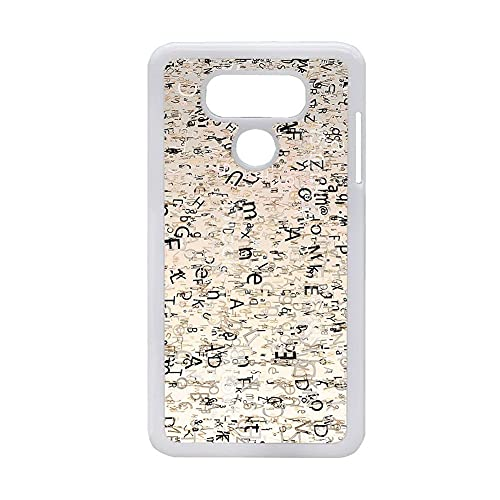 Carcasa De Teléfono De Plástico Duro Niños Divertido Tener Letter Compatible para LG G6